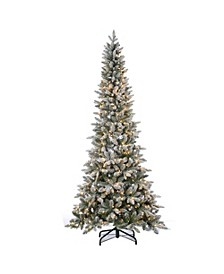 7.5Ft. Lightly Flocked Canyon Fir with 450 Clear Lights