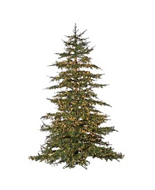 7.5Ft. Pre-Lit Natural Cut Monaco Pine with 8032 LED Micro Lights