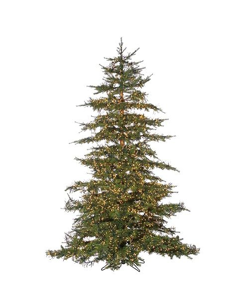 Sterling 7.5Ft. Pre-Lit Natural Cut Monaco Pine with 8032 LED Micro Lights