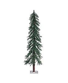 6Ft. Unlit Alpine Tree with 657 tips