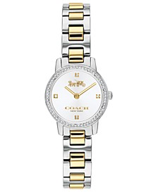 Women's Audrey Two-Tone Stainless Steel Bracelet Watch 22mm