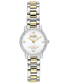 COACH Women's Audrey Two-Tone Stainless Steel Bracelet Watch 22mm