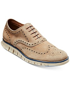 Cole Haan Men's ZeroGrand Wingtip Oxfords