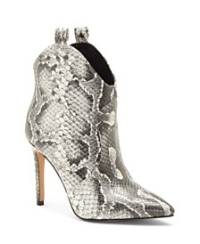 Jessica Simpson Pixille Stiletto Western Booties