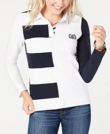 Colorblocked Rugby Top, Created for Macy's
