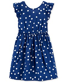 Carter's Little & Big Girls Polka Dot Dress