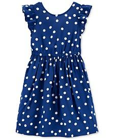 Carter's Little & Big Girls Polka Dot Dress