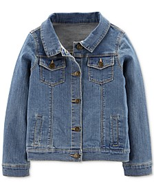 Little & Big Girls Denim Jacket