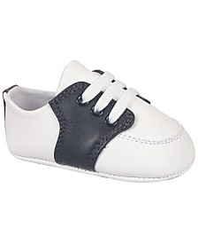 Baby Deer Baby Boy Leather Saddle Oxford