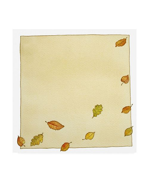 "Trademark Global Wendy Edelson Flowing Leaves Canvas Art - 36.5"" x 48"""
