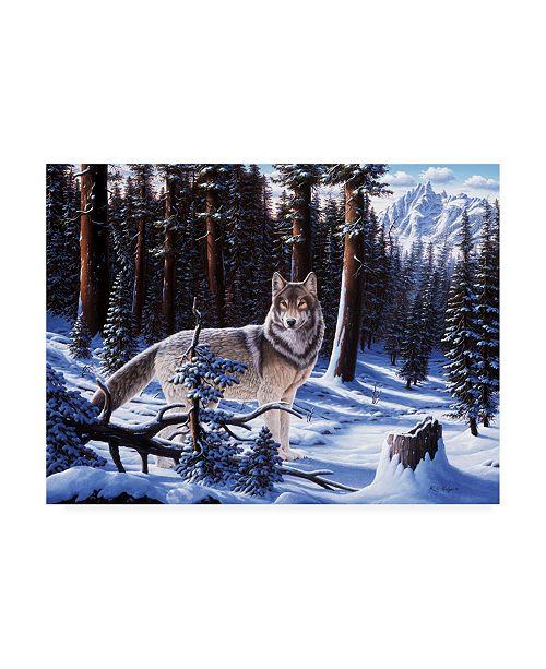 "Trademark Global R W Hedge Big Timber Canvas Art - 15.5"" x 21"""