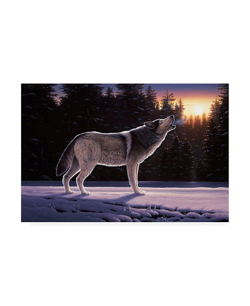 "Trademark Global R W Hedge The Last Ember Canvas Art - 27"" x 33.5"""