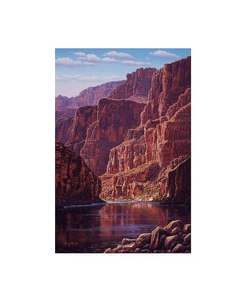 """Trademark Global R W Hedge Secluded Canvas Art - 36.5"""" x 48"""""""