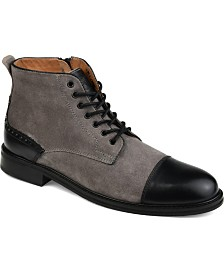 Thomas & Vine Men's Remo Cap Toe Ankle Boots