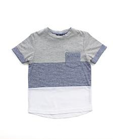 Boy's Colorblock Short Sleeve Tee