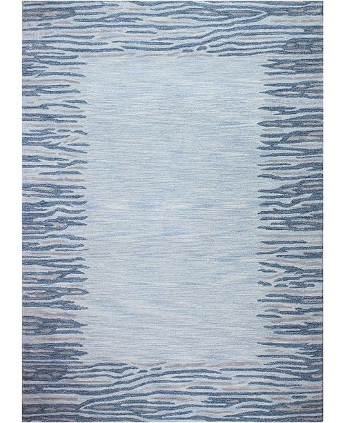 "Kenneth Mink CLOSEOUT! Kona Border Area Rug, 8'6"" x 11'6"" Rug"