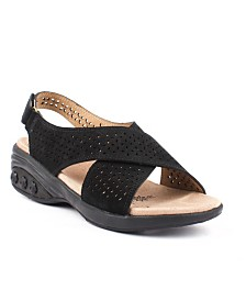 Therafit Shoe Olivia Adjustable Cross Strap Sandal