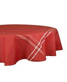 """French Chambray Tablecloth 70"""" Round"""