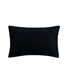 Destinations by Stavros Havana Black Embroidered Decorative Pillow