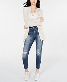 Juniors' Drop-Shoulder Cardigan, Created for Macy's