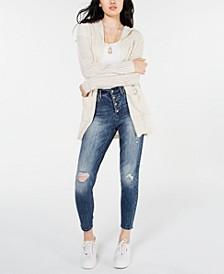 Juniors' Drop-Shoulder Cardigan, Created for Macy's