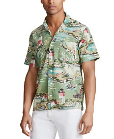 Polo Ralph Lauren Men's Oceanside Camp Shirt