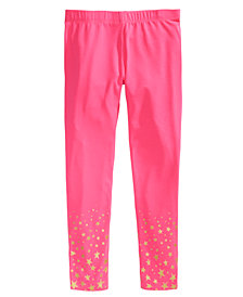 Epic Threads Toddler Girls Glitter-Bottom Leggings, Created for Macy's