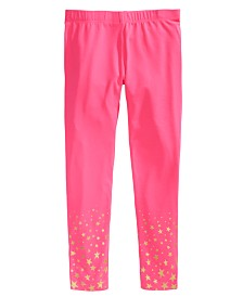 Epic Threads Little Girls Border Star Leggings, Created for Macy's