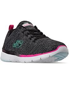 Skechers Women's Flex Appeal 3.0 Reinfall Walking Sneakers from Finish Line