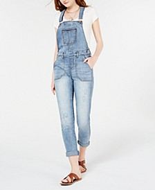 Juniors' Skinny Jeans Overalls, Created for Macy's