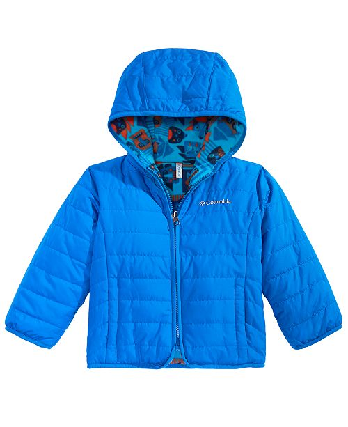 Columbia Toddler Boys & Girls Double Trouble Hooded Reversible Jacket