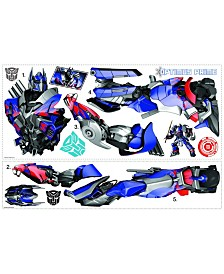 York Wallcoverings Transformers- Age of Extinction Optimus Prime Peel and Stick Giant Wall Decals
