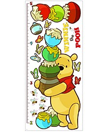Winnie The Pooh - Pooh Peel and Stick Inches Growth Chart