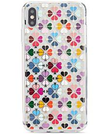 Foil Spade iPhone XS Case