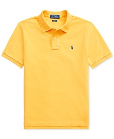 Polo Ralph Lauren Big Boys Basic Mesh Knit Polo Shirt