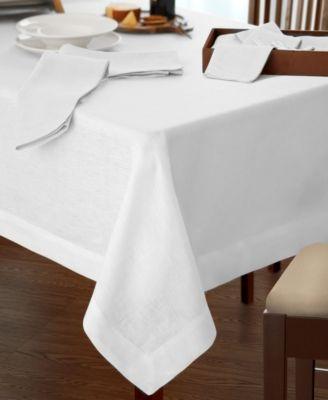 "La Classica Luxury Linen Fabric Tablecloth, 70""x146"""