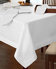 "Villeroy & Boch La Classica Luxury Linen Fabric Tablecloth, 70""x146"""