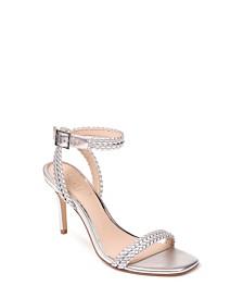 Jewel Badgley Mischka Sprinkle Sandals