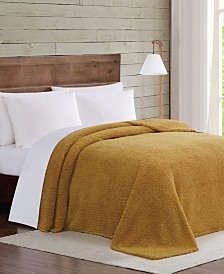 Brooklyn Loom Marshmallow Sherpa Twin/Twin XL Blanket