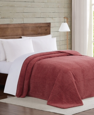 Brooklyn Loom Marshmallow Sherpa Full/Queen Blanket Bedding