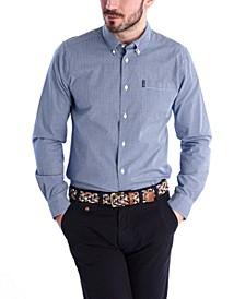 Men's Tailored Gingham Shirt