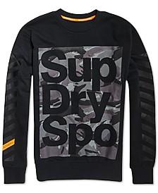 Superdry Men's Combat Boxer Camo Logo-Print Sweatshirt