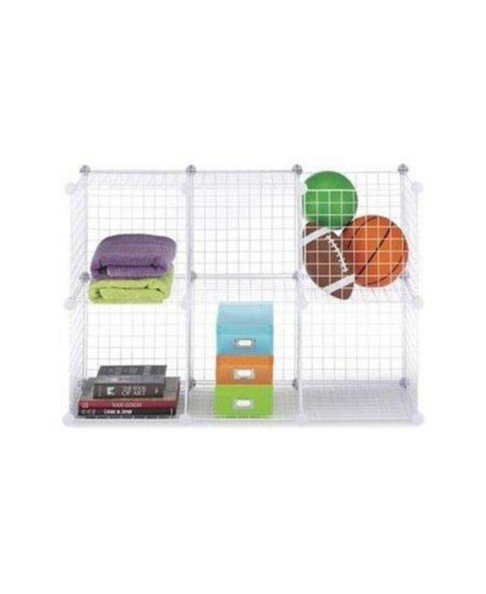 Whitmor - Set of 6 Storage Cubes