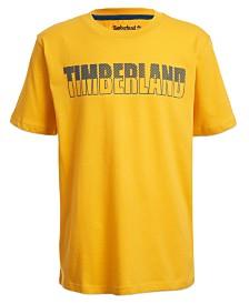 Timberland Big Boys Brentwood Logo T-Shirt