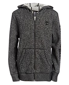 Big Boys Hayes Full-Zip Logo Hoodie