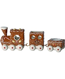 Winter Bakery Gingerbread Train Decoration