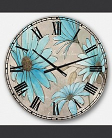 Traditional Oversized Metal Wall Clock