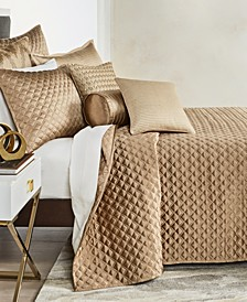 Deco Embroidery Full/Queen Coverlet, Created for Macy's