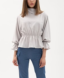 VHNY Ruffle Sleeve Shirt