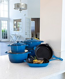 Neo 10-Pc. Cast Iron Cookware Set Created for Macy's